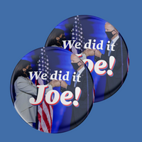 We Did It Joe Button 2-Pack