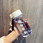 500ml Small Frosted Water Bottle
