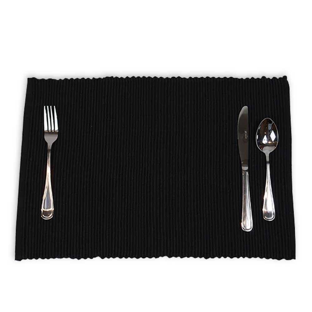 Ribbed Placemats (4 Pack)