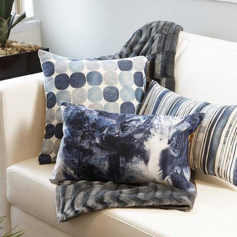 Blue Mist Lumbar Pillow