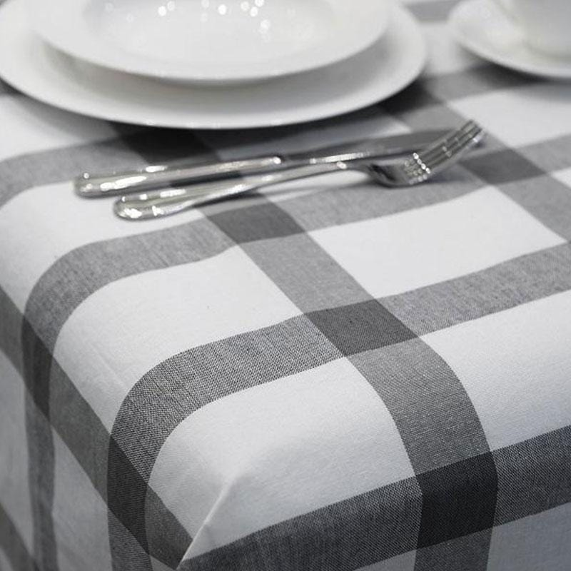 Check Tablecloth