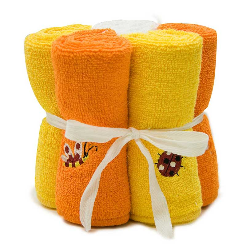 Cotton Woven Face Cloth (5 Pack)