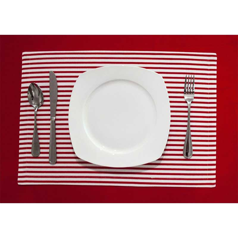The Stripes Reversible Placemats