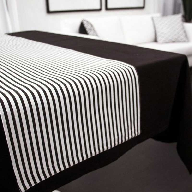 The Stripes Reversible Table Runner