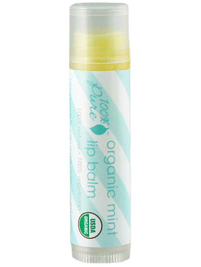 Organic Mint Lip Balm - 3 Pack