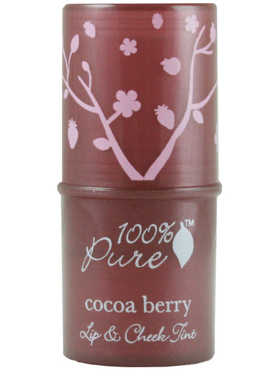 100% Pure Shimmery Cocoa Berry Lip & Cheek Tint