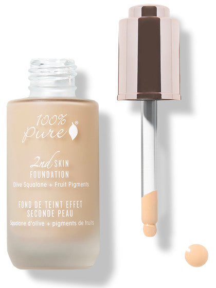 100% Pure Fruit Pigmented 2nd Skin Foundation: SHADE 1