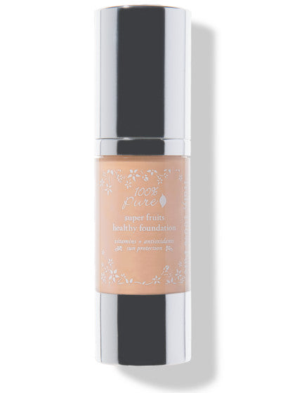 100% Pure Fruit Pigmented Healthy Foundation: Peach Bisque