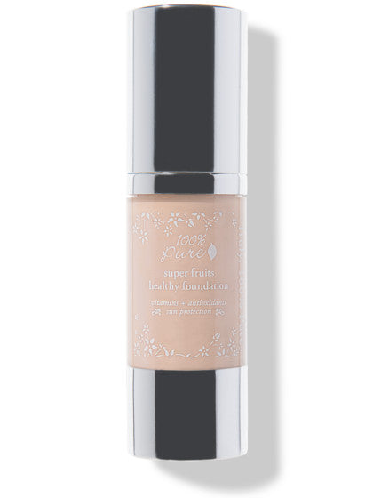 100% Pure Fruit Pigmented Healthy Foundation: White Peach