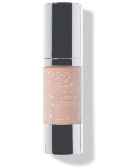 100% Pure Fruit Pigmented Healthy Foundation: Sand