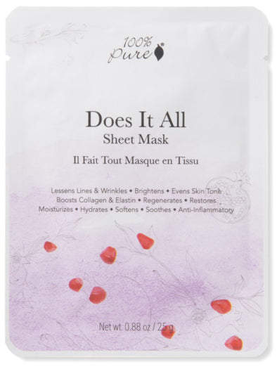 Sheet Mask: Does It All - 5 Pack