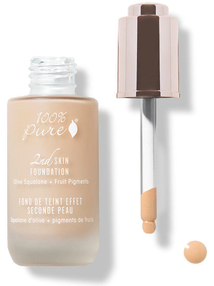 100% Pure Fruit Pigmented 2nd Skin Foundation: SHADE 2