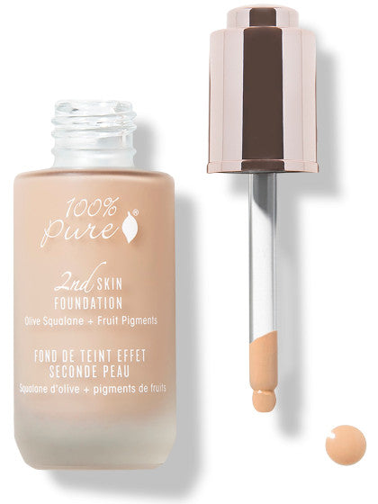 100% Pure Fruit Pigmented 2nd Skin Foundation: SHADE 3