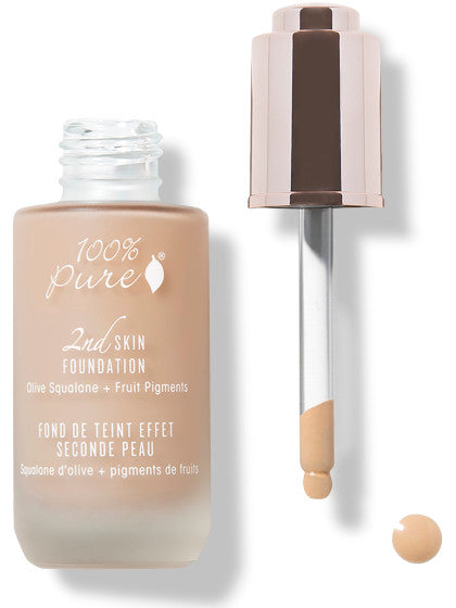 100% Pure Fruit Pigmented 2nd Skin Foundation: SHADE 4