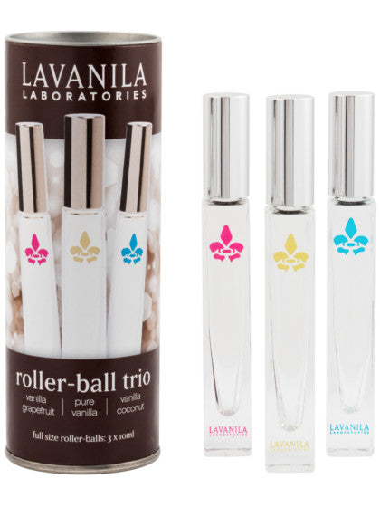 The Healthy Fragrance Roller-Ball Trio