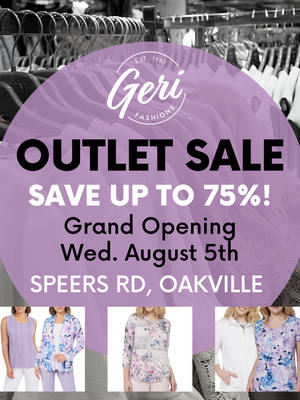 NEW! Geri Fashions Outlet Store