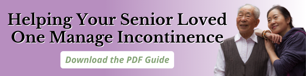 Helping Your Senior Loved One Manage Incontinence - Geri Fashions