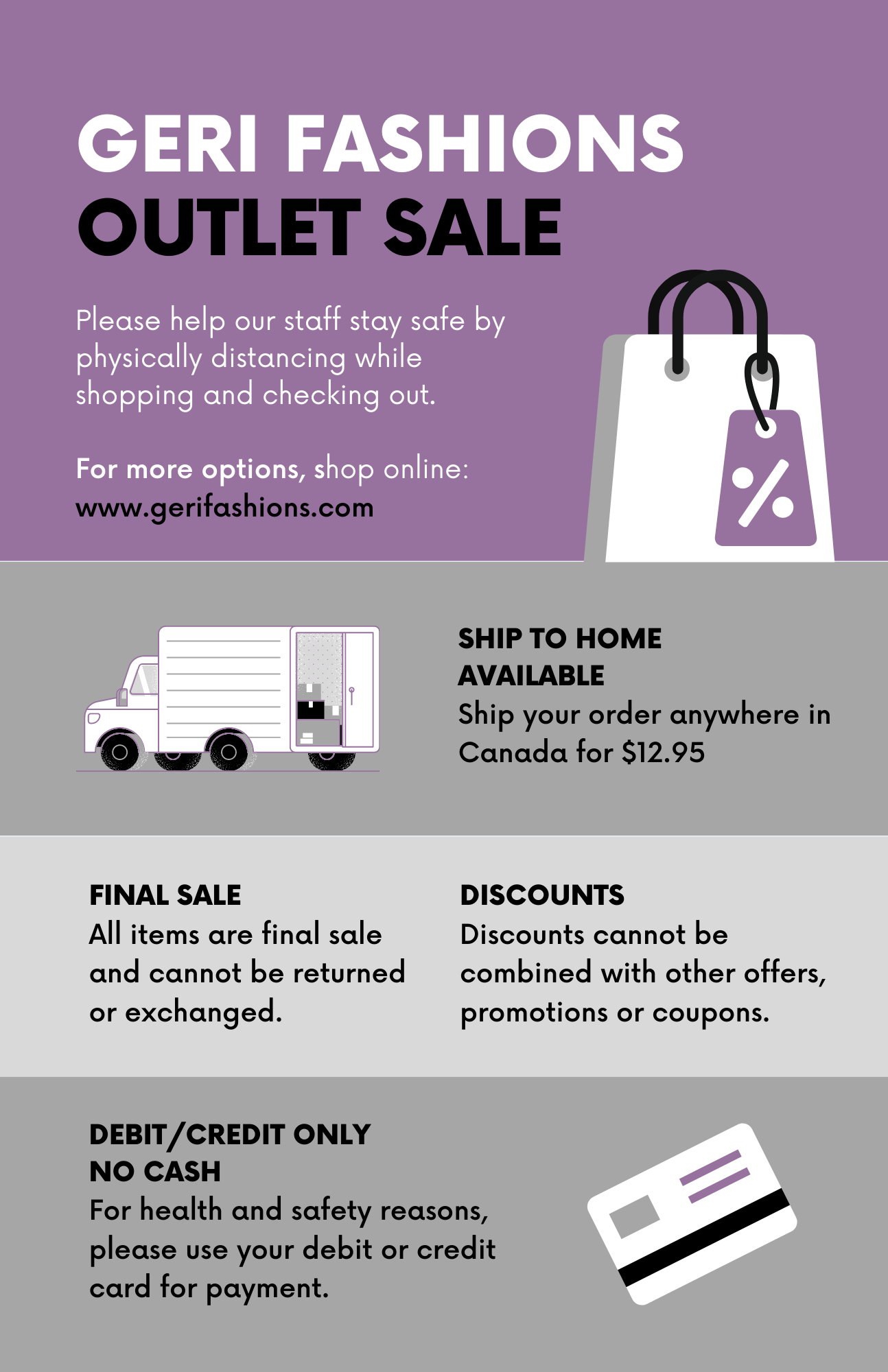 Geri Fashions Outlet Store