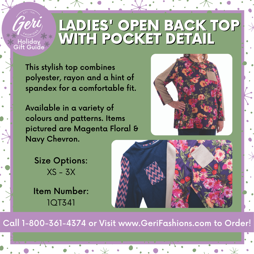 Adaptive Floral Top