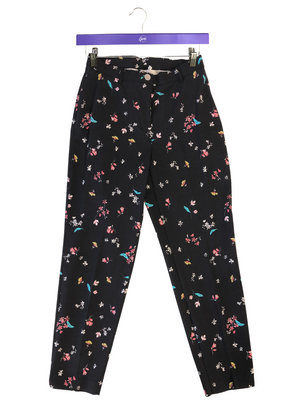 Floral Tech Stretch Ankle Pant