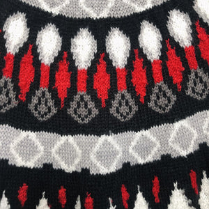 Nordic Red Multicolored Sweater