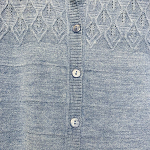 Button Front Knit Cardigan with Pockets