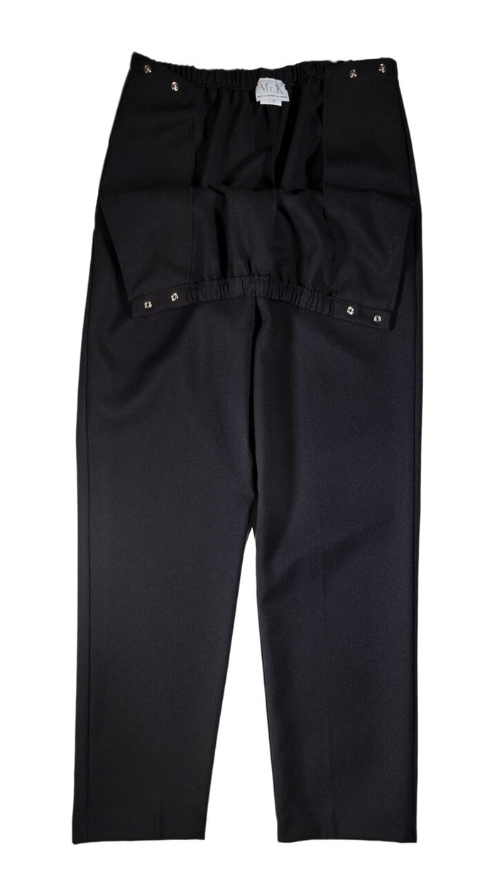 Unisex Side Entry Snap Closure Pant