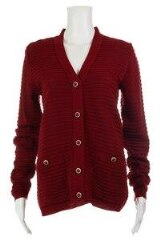 Long Sleeved Knit Cardigan