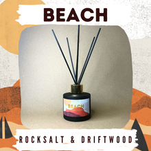 Load image into Gallery viewer, Beach - Rocksalt & Driftwood 100g Reed Diffuser