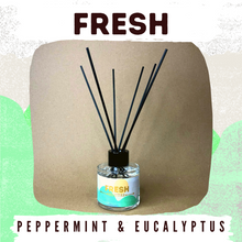 Load image into Gallery viewer, Fresh - Peppermint & Eucalyptus 100g Reed Diffuser
