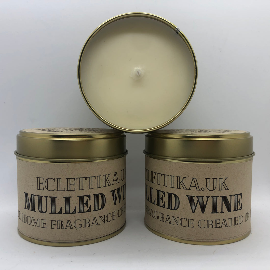 Mulled Wine 200g Soy Candle