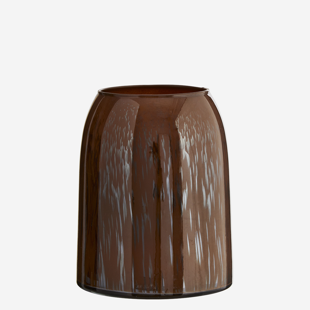 Rust Glass Vase