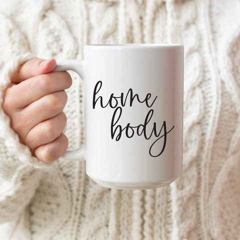 Home Body Ceramic Coffee Mug