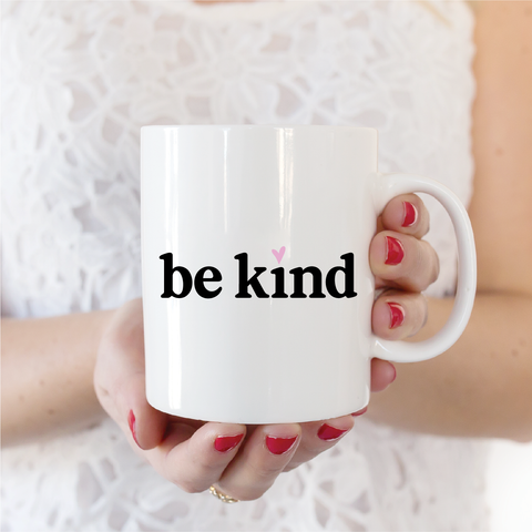 Be Kind Ceramic Coffee Mug