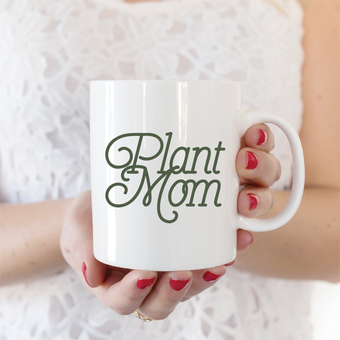 Plant Mom Ceramic Coffee Mug