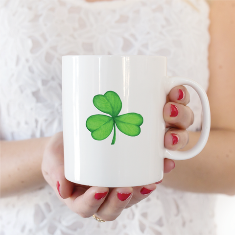 Shamrock Ceramic Coffee Mug