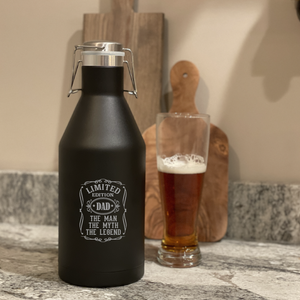 Personalized Growler for Dad
