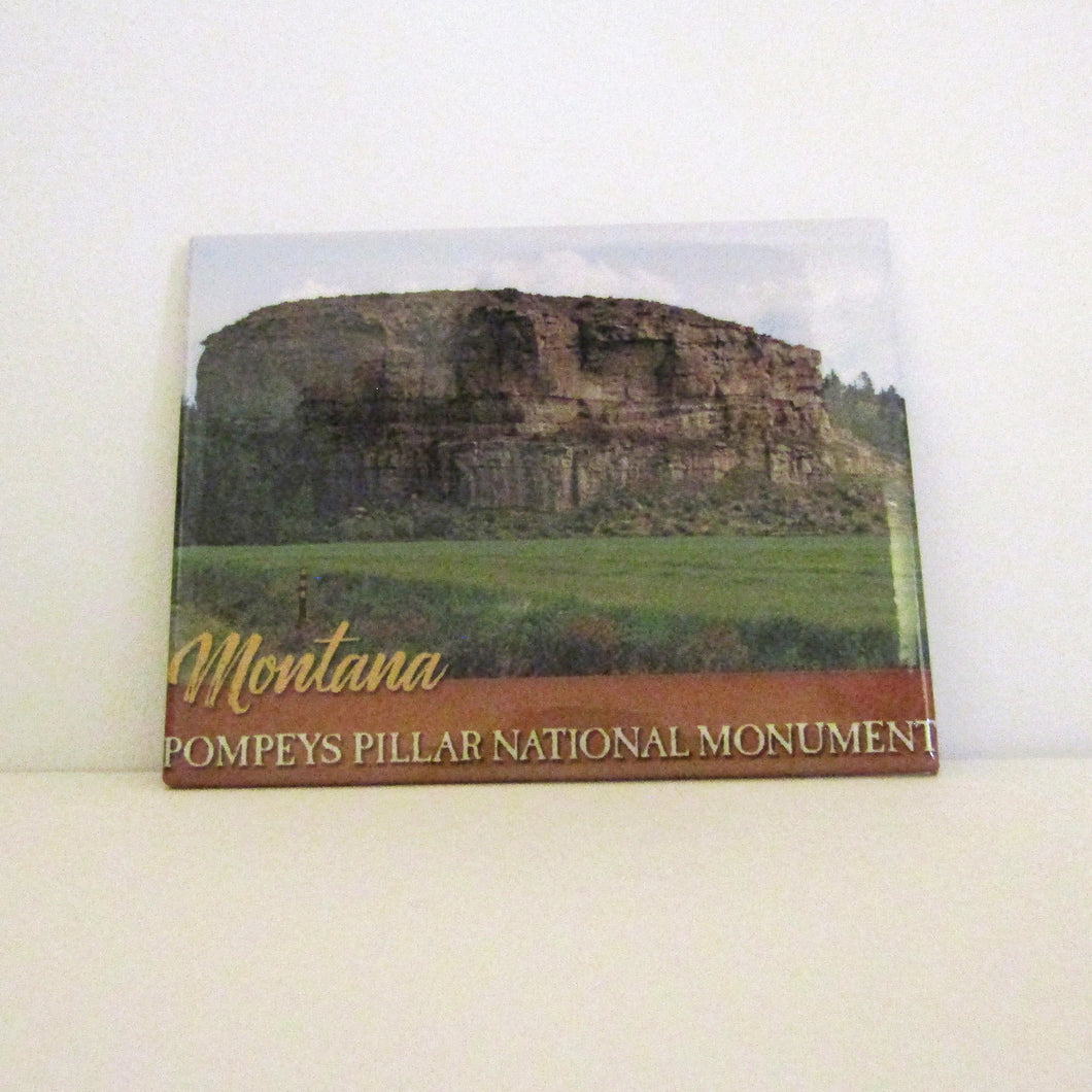 Pompeys Pillar Magnet