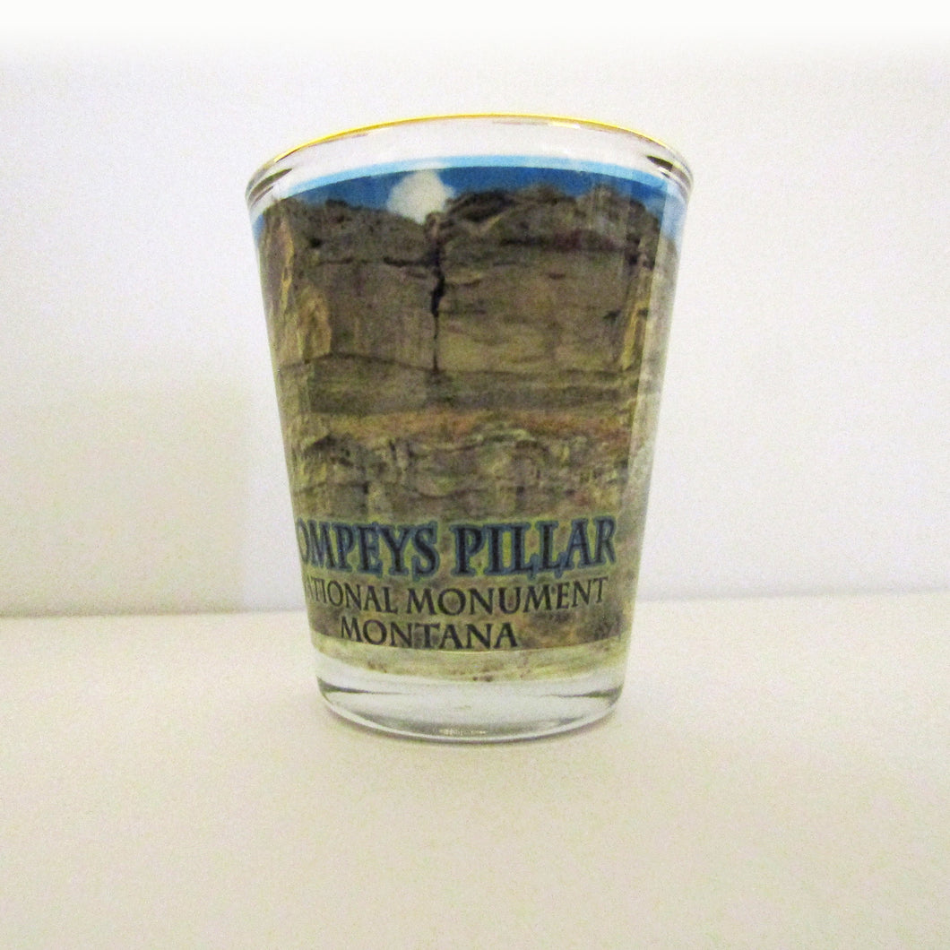 Pompeys Pillar Shot Glass