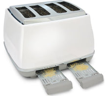 Load image into Gallery viewer, DELONGHI Icona Capitals CTOC4003.W 4-Slice Toaster - White