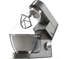 Load image into Gallery viewer, KENWOOD Chef Titanium KVC7300S Stand Mixer - Silver