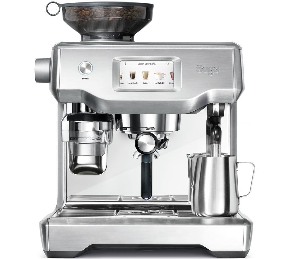 SAGE Oracle Touch SES990BSS Bean to Cup Coffee Machine - Stainless Steel