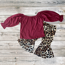 Load image into Gallery viewer, Leopard Bell Pant Set