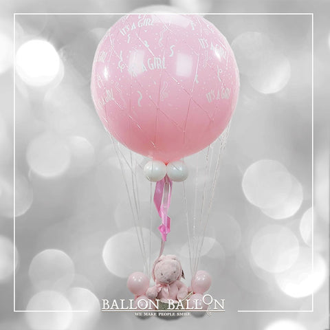 Dream Ballon It's a Girl Naissance Fille