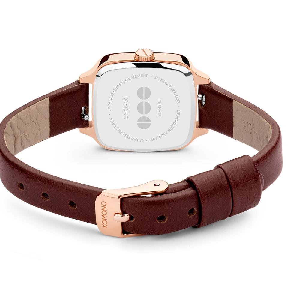 Load image into Gallery viewer, Kate Auburn Watch, Rose Gold