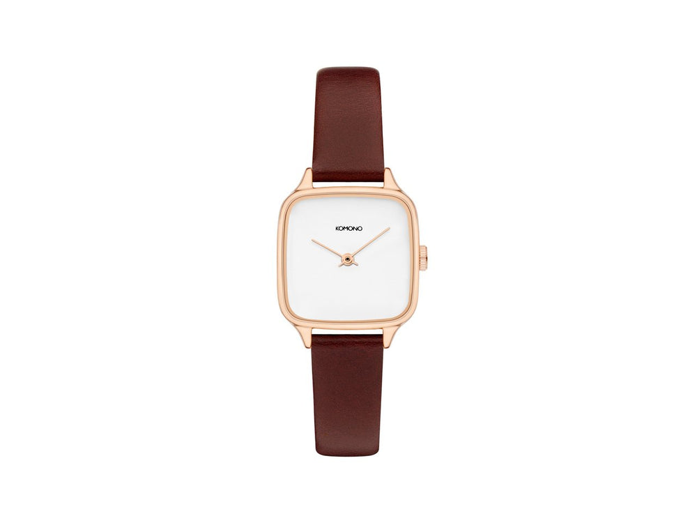 Kate Auburn Watch, Rose Gold