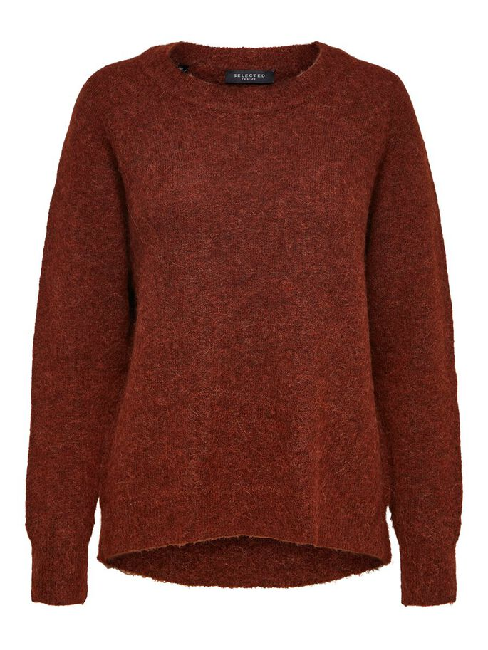 SLFLULU Smoked Paprika Red Jumper