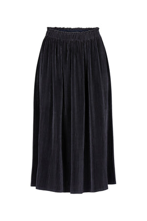 Load image into Gallery viewer, Suus Plisse Skirt, Midnight Blue
