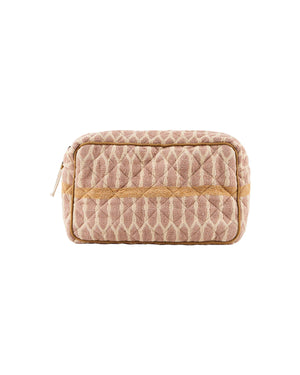 Load image into Gallery viewer, Toiletry bag, Mustard/Terracotta/Sand