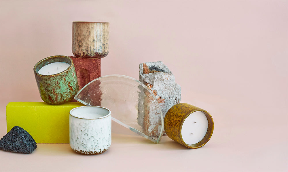 Load image into Gallery viewer, Ceramic Scented Candle: Coctails in Manhattan